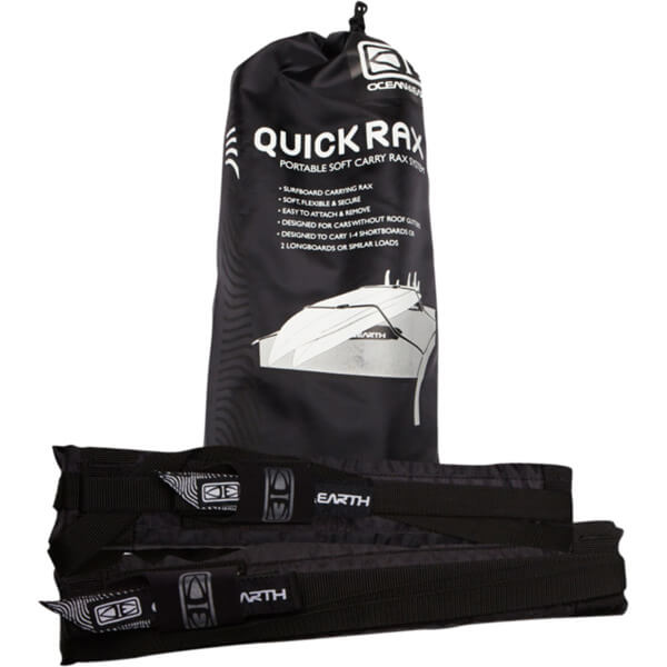 Ocean & Earth Surfboard Quick Rax Black Soft Rack