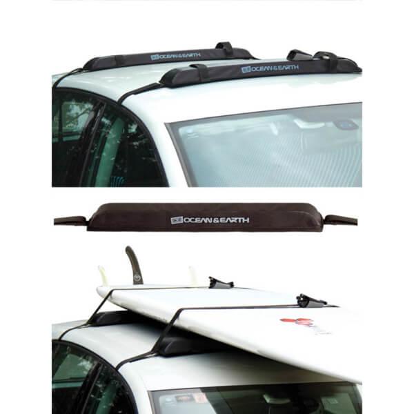 Ocean & Earth SUP / Longboard Rax Black Soft Rack