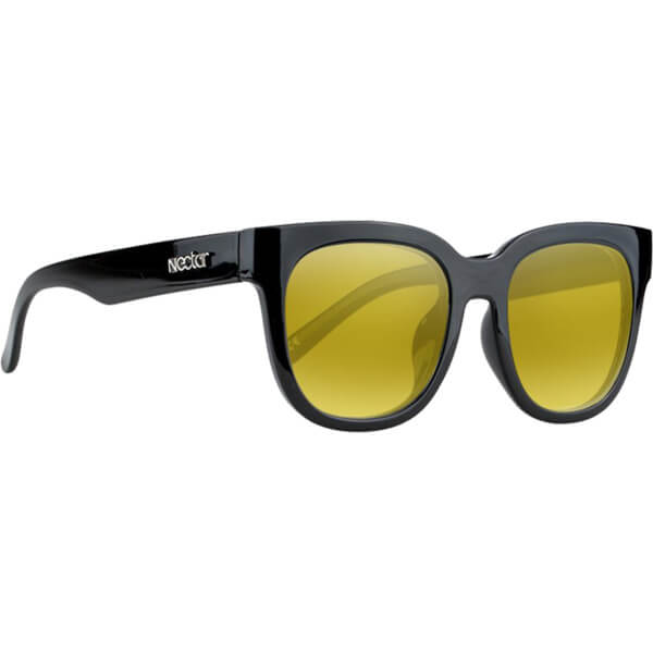 Nectar Rigby Black / Gold Polarized Sunglasses