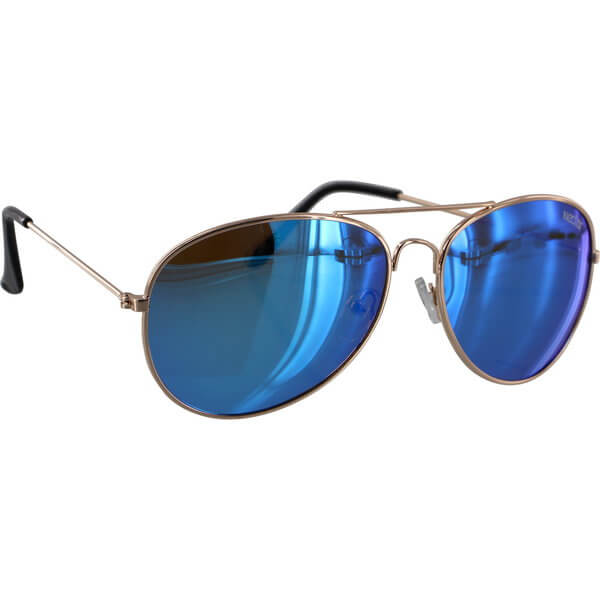Nectar Apollo Gold / Blue Polarized Sunglasses