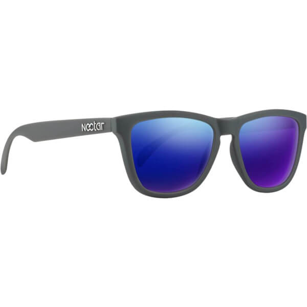 4fc79ade95698 Nectar Paraday Matte Grey   Blue   Green Polarized Sunglasses - Warehouse  Skateboards