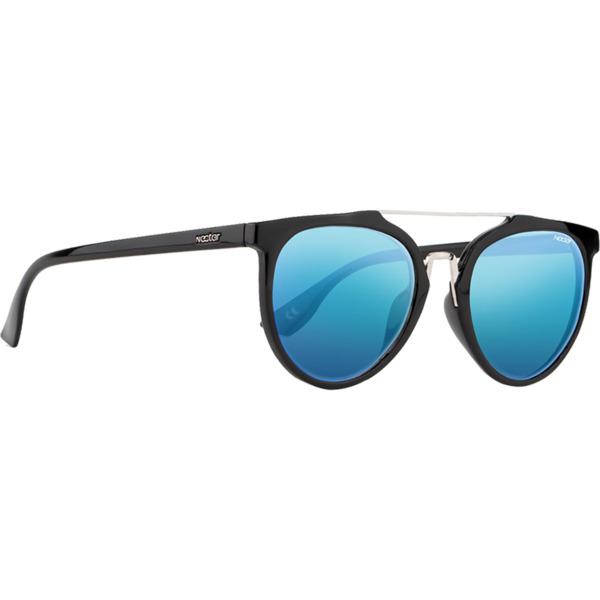 Nectar Remi Isla Matte Black / Blue Mirror Polarized Sunglasses