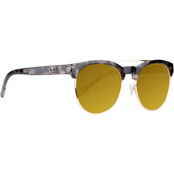 Nectar Pablo Black / Tort / Gold Sunglasses
