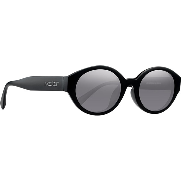 Nectar Atypical Black / Silver Sunglasses