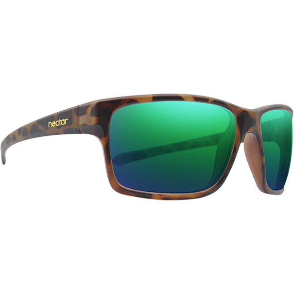Nectar Killick Brown Tortoise / Green Polarized Sunglasses