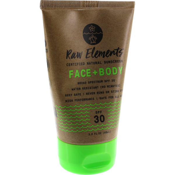 Raw Elements SPF 30+ Lotion - 3 oz