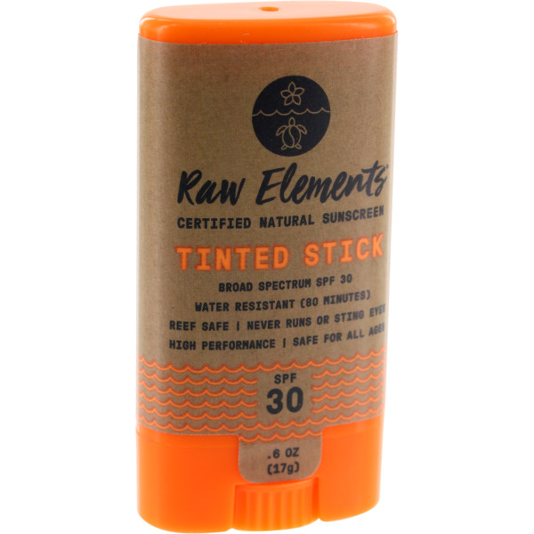Raw Elements Tinted SPF 30+ Face Stick -.60oz