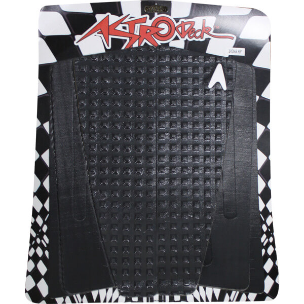 Astrodeck 314 3/4 Deck Herbie Fletcher Black SUP Surfboard Traction Pad