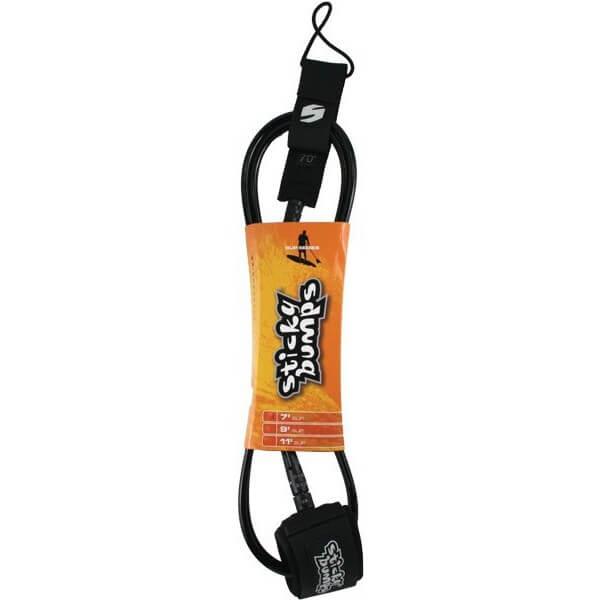 Sticky Bumps Regular Black SUP Leash - 9'