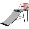 Freshpark 4 Foot Quarter Pipe Skateboard Ramp Safety Rail
