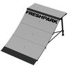 Freshpark Two (2) 4 Foot Quarter Pipe Skateboard Ramps