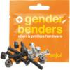 """Enjoi Skateboards Gender Bender Allen Head Skateboard Hardware Set - 1"""""""