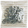 Mini Logo 100 Pack Axle Silver Washers - 100 Pieces
