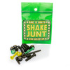 Shake Junt Allen Head Bag-O-Bolts 1 Green / 1 Yellow Skateboard Hardware Set - 7/8""