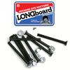 """Shortys Skateboards Phillips Head Longboard Skateboard Hardware Set - 2"""""""