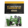 Standard Phillips Head Alien Green Skateboard Hardware Set - 1""