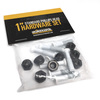 Standard Phillips Head White Skateboard Hardware Set - 1""