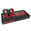 Bones Bearings - 8mm Bones REDS Precision Skate Rated Skateboard Bearings (8) Pack