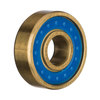 FKD Bearings Josh Kalis Pro Blue / Gold Skateboard Bearings