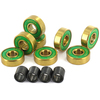 Shake Junt 8mm Triple OG's ABEC 7 Skateboard Bearings