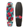"Aluminati Skateboards Floral Tombstone Cruiser Complete Skateboard - 8"" x 28"""