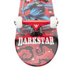 "Darkstar Skateboards Stardust Red Mid Complete Skateboards - 7.62"" x 31.3"""
