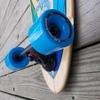"""Layback Longboards Soulride Blue Longboard Complete Skateboard - 9.75"""" x 40"""""""
