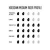 "Moonshine MFG 2018 Hoedown Medium Longboard Complete Skateboard - 9.5"" x 48"""