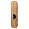 "Moonshine MFG 2018 Hooch Black / Natural Longboard Complete Skateboard - 9.75"" x 38"""
