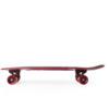 "Penny Skateboards Hawk Crest 27 Maroon Cruiser Complete Skateboard - 7.5"" x 27"""
