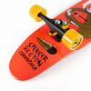 "Sector 9 SKC Downfall Red Longboard Complete Skateboard - 9"" x 34"""