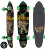 "Sector 9 Stalker Rasta Native Cruiser Complete Skateboard - 8.25"" x 31.5"""