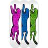 "Real Skateboards Dennis Busenitz Prey II White / Assorted Skateboard Deck - 8.12"" x 32"""
