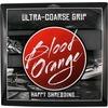"Blood Orange Ultra Coarse Black Griptape 4 Pieces 11"" X 10"" Pre-Cut Squares, Overall Size - 11"" x 40"""