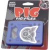 Pig Wheels Piles Blue Shock Pads - Set of Two (2) - 1/8""