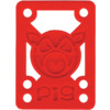 Pig Wheels Piles Red Shock Pads - Set of Two (2) - 1/8""