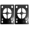 Standard Black Shock Pads - Set of Two (2) - 1/8""