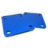 "Standard Blue Riser Pads - Set of Two (2) - 1/8"""