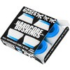 Bones Wheels Hardcore 81A White / Blue Skateboard Bushings - 2 Pair w / Washers - Soft