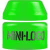 Mini Logo Soft Cone / Barrel Green Skateboard Bushings - 84a