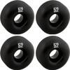"Essentials White Black Trucks with 52mm Black Wheels, Bearings & Hardware Kit - 5.0"" Hanger 7.75"" Axle (Set of 2)"