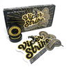 """Warehouse Polished Trucks with 53mm Black Street Vents Wheels & Bearings Combo - 5.0"""" Hanger 7.75"""" Axle (Set of 2)"""