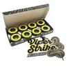 "Warehouse Polished Trucks with 52mm Black Street Eagles Wheels & Bearings Combo - 5.25"" Hanger 8.0"" Axle (Set of 2)"