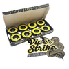 "Warehouse Polished Trucks with 53mm White Street Vents Wheels & Bearings Combo - 5.5"" Hanger 8.25"" Axle (Set of 2)"