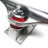 "Warehouse Skateboards Standard Polished Skateboard Trucks - 5.25"" Hanger 8.0"" Axle (Set of 2)"