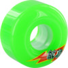 Acid Chemical Wheels Funner Skateraid Green Skateboard Wheels - 56mm 86a (Set of 4)
