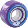 Acid Chemical Wheels Pods Conical Purple Skateboard Wheels - 55mm 86a (Set of 4)