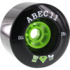 ABEC 11 SuperFly Black Skateboard Wheels - 107mm 74a (Set of 4)