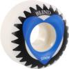 Blind Skateboards Heart White / Blue Skateboard Wheels - 51mm 99a (Set of 4)