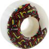 Blind Skateboards Letter Drop White Skateboard Wheels - 51mm 99a (Set of 4)